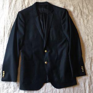 J.Crew men's navy Ludlow blazer